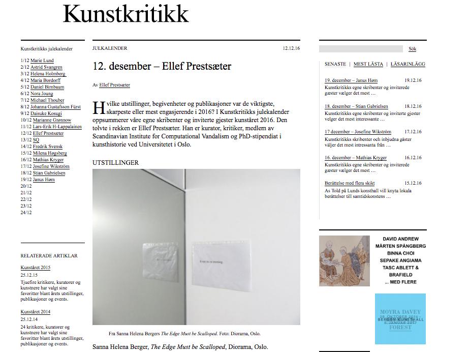 Sanna-Helena-Berger-Kunstkritikk-Oslo-The-edge-must-be-scalloped-Diorama-Gallery-Oslo